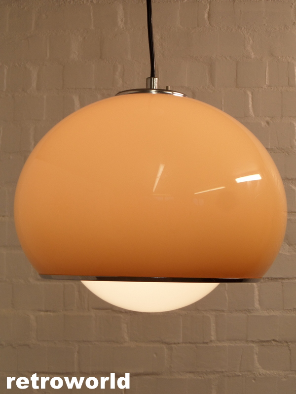 vintage harvey guzzini pendant ceiling light