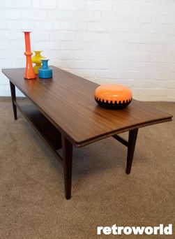 vintage richard hornby coffee table